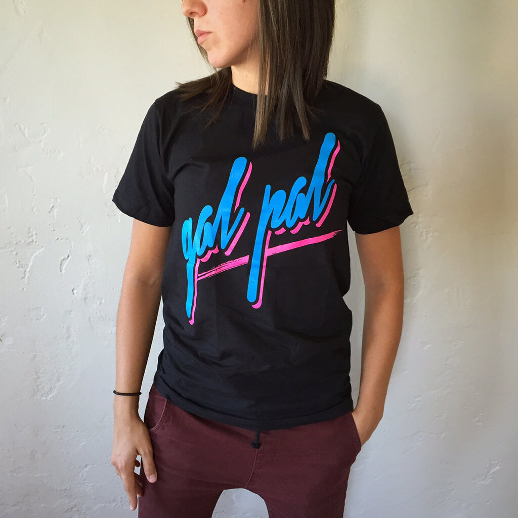 Gal Pal Black Tee - Autostraddle - Hello Merch