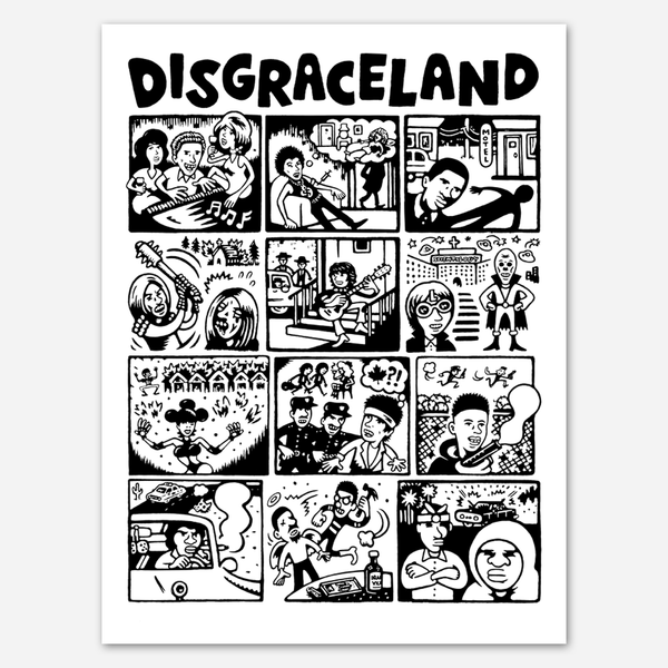 Illustrated Season 1 Poster by Disgraceland for sale on hellomerch.com
