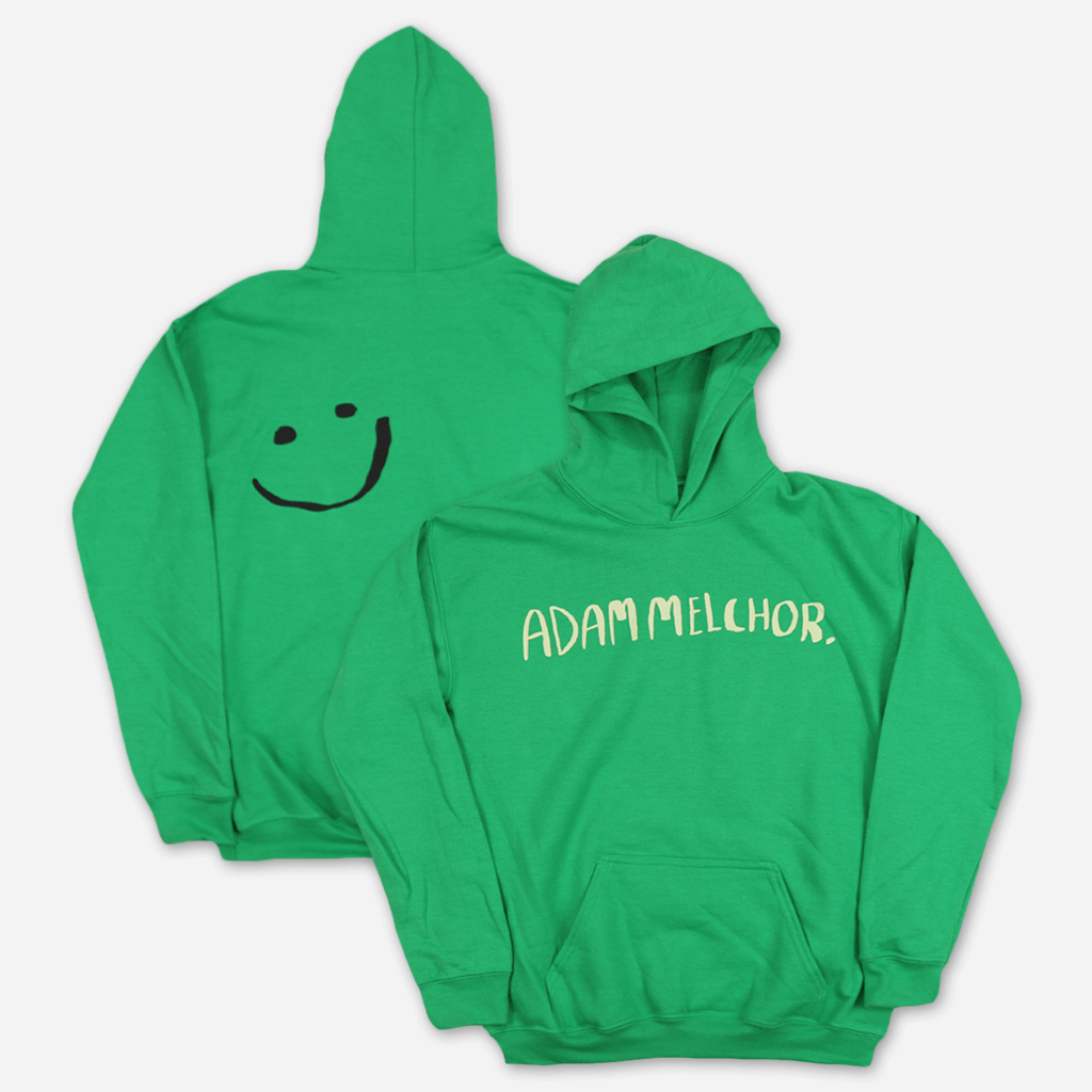 Smiley Green Youth Hoodie