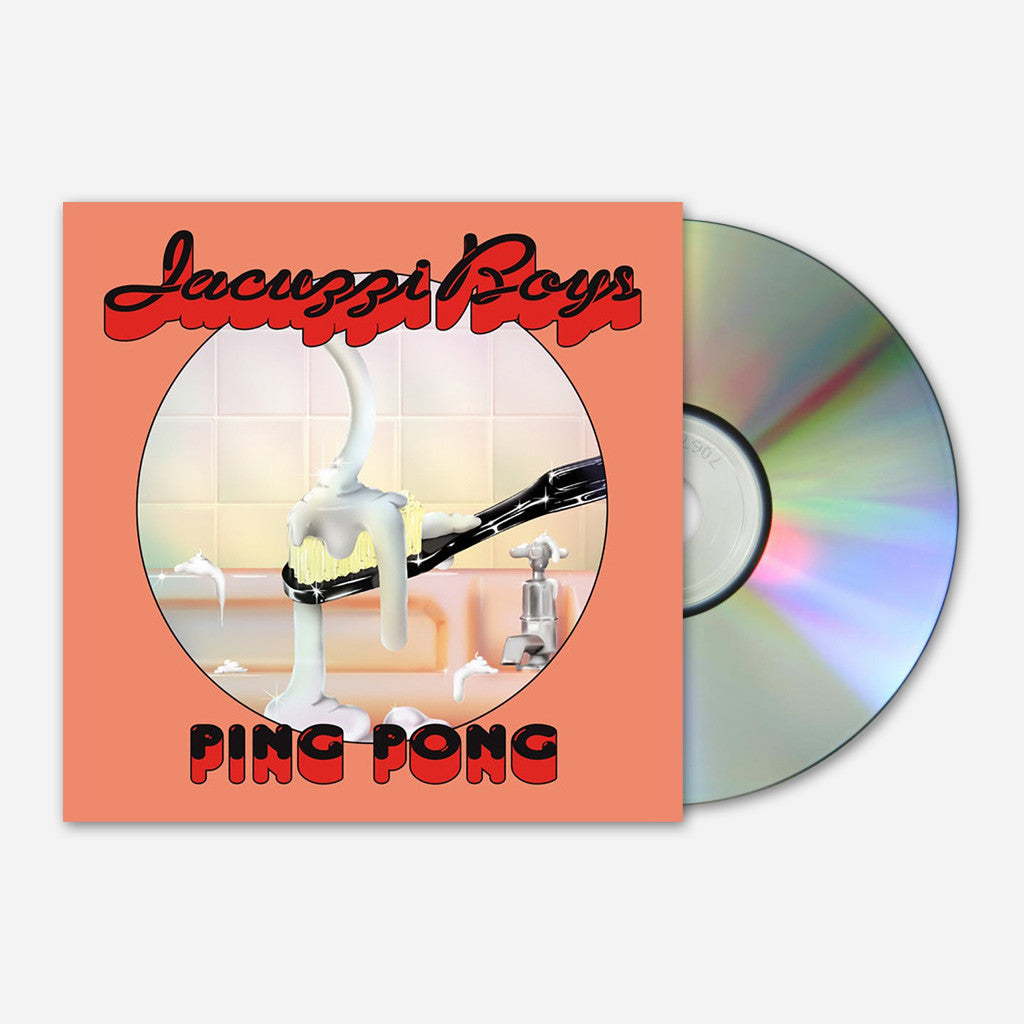 Ping Pong CD - Jacuzzi Boys - Hello Merch