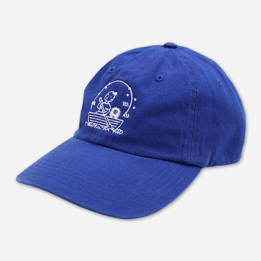 Row Boat Blue Hat