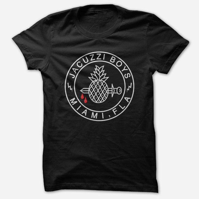 Pineapple Logo Black T-Shirt