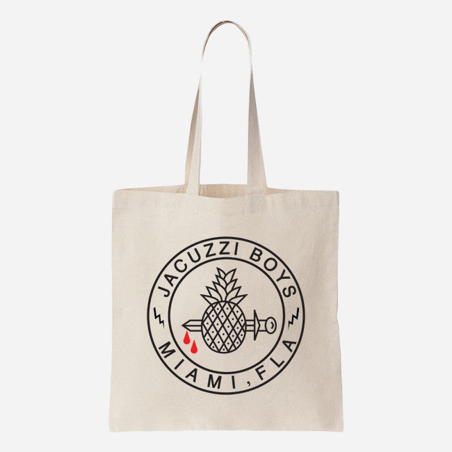 Pineapple Logo Canvas Tote Bag
