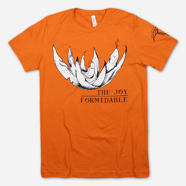 f66d1faed Lotus Orange T-Shirt by The Joy Formidable for sale on hellomerch.com
