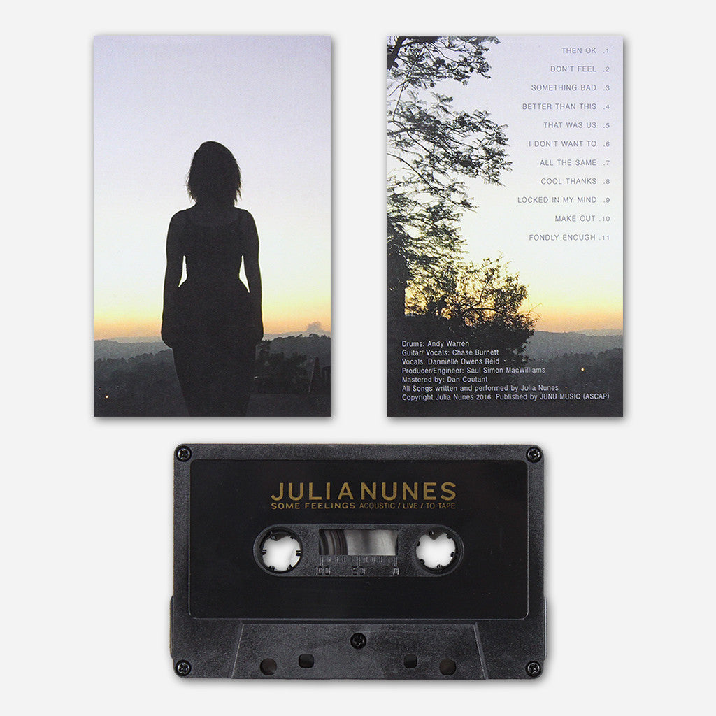 Some Feelings Acoustic Live To Tape - Julia Nunes - Hello Merch