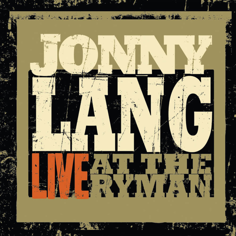 Live At The Ryman CD - Jonny Lang - Hello Merch