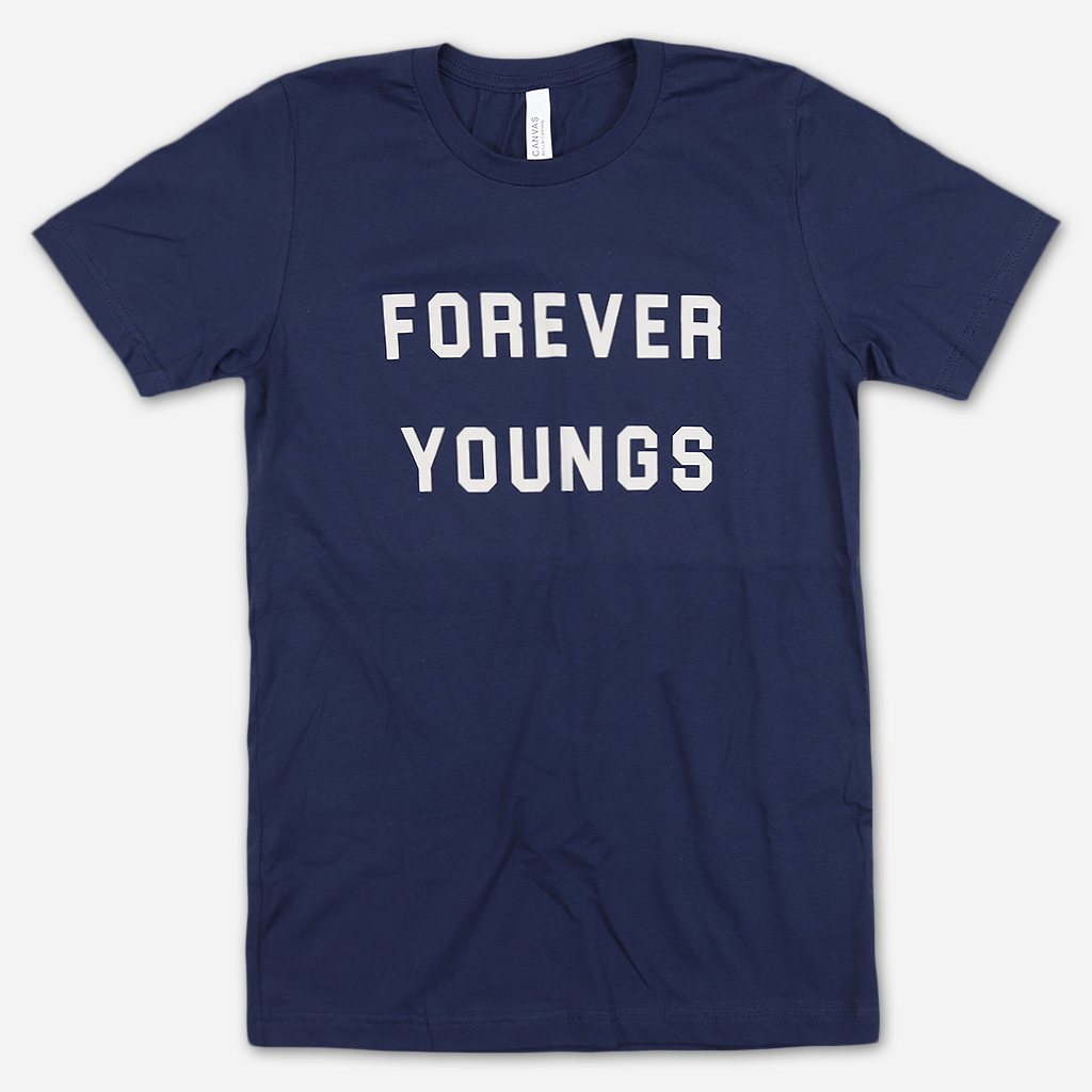 Forever Youngs Navy T-Shirt