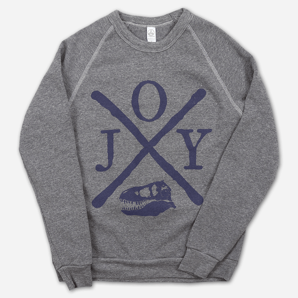 HXC Rex Eco-Grey Pullover Sweatshirt by Jenny Owen Youngs for sale on hellomerch.com