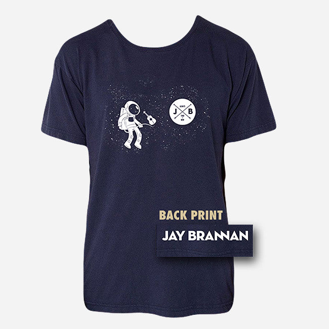 Astronaut Navy T-Shirt - Jay Brannan - Hello Merch