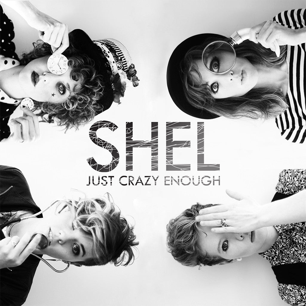 Just Crazy Enough CD - SHEL - Hello Merch