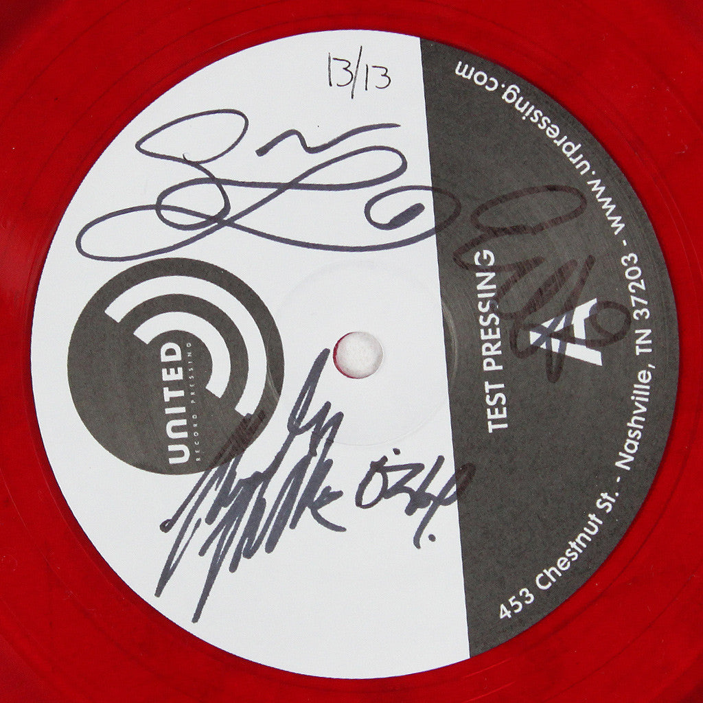 Just Crazy Enough Signed Test Pressing 12