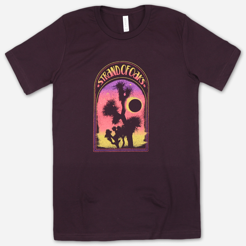 Joshua Tree Ox Blood T-Shirt