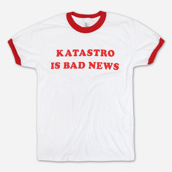 Bad News Ringer by Katastro for sale on hellomerch.com