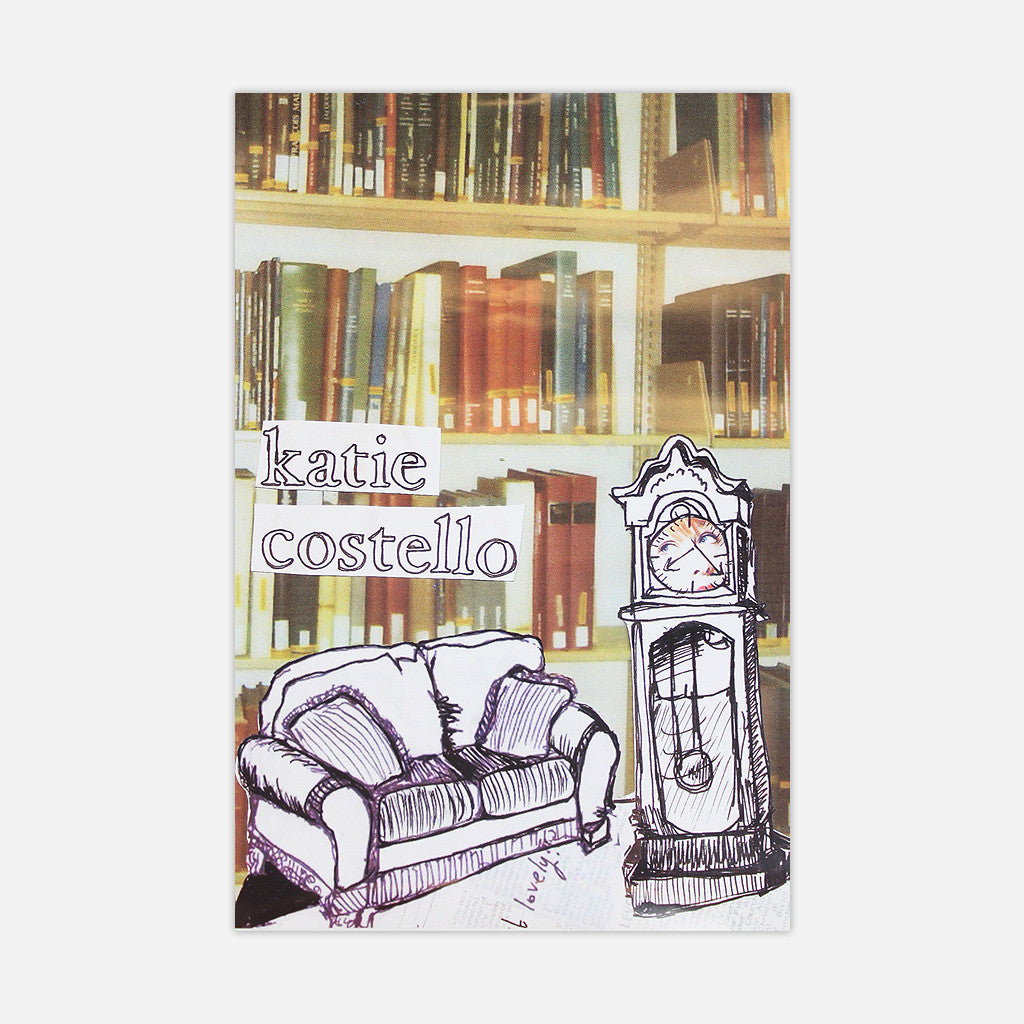 Library Poster - Katie Costello - Hello Merch