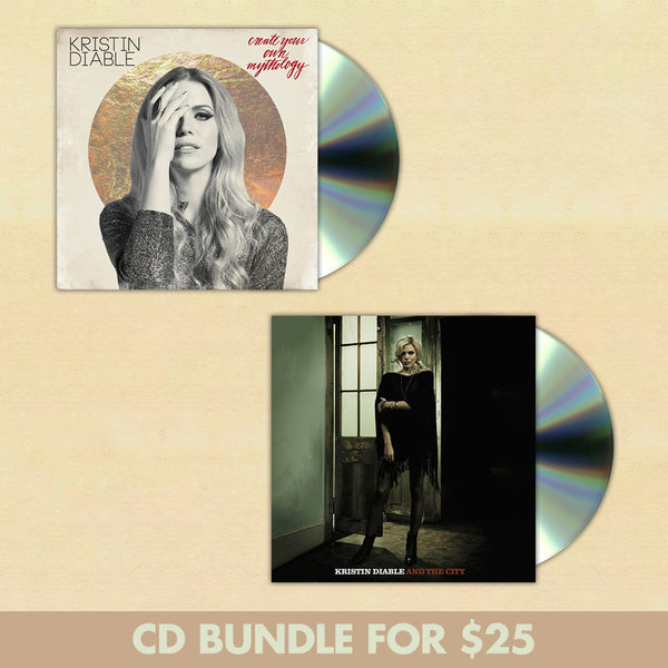 Kristin Diable CD Bundle by Kristin Diable for sale on hellomerch.com