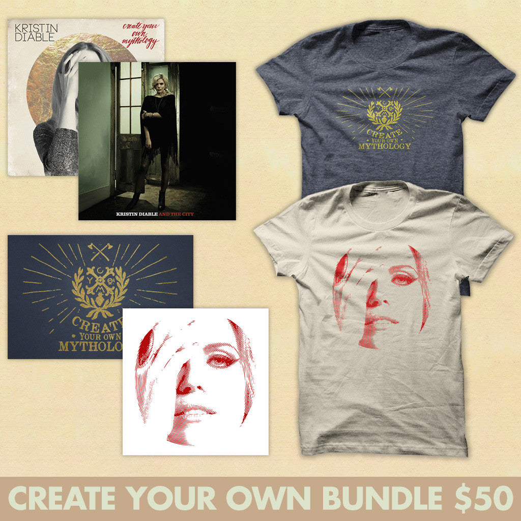 Create Your Own Kristin Diable CD Bundle