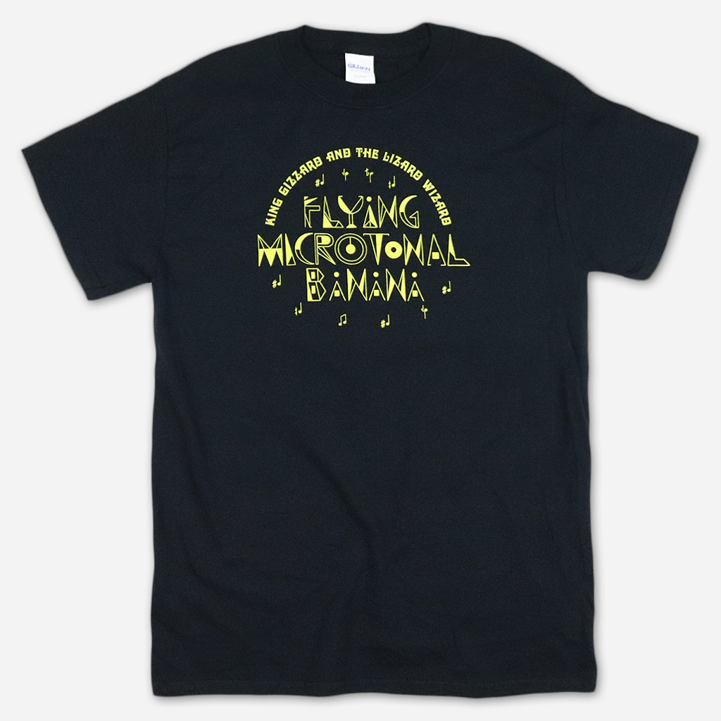FMB Text Black T-Shirt
