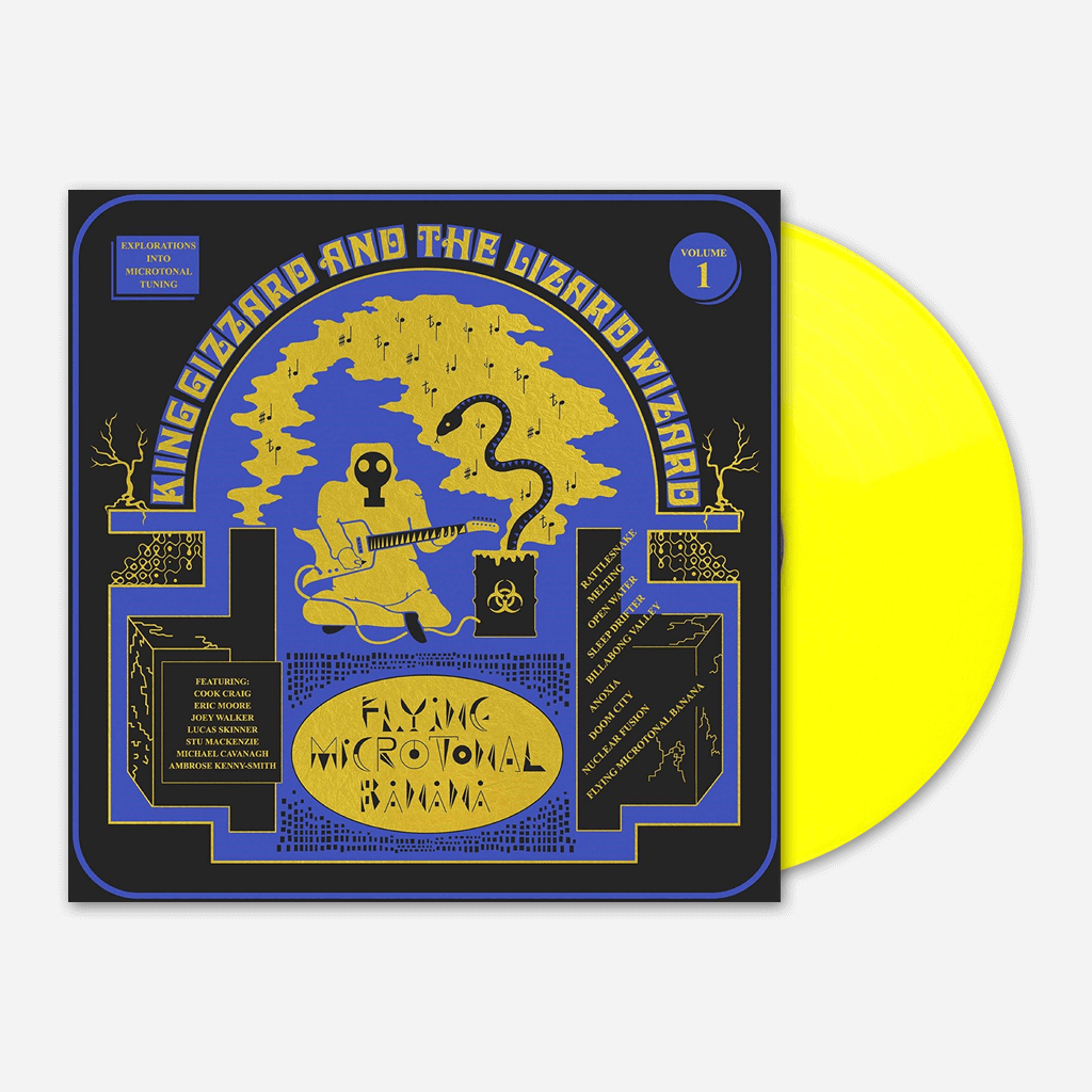 "Flying Microtonal Banana 12"" Vinyl"