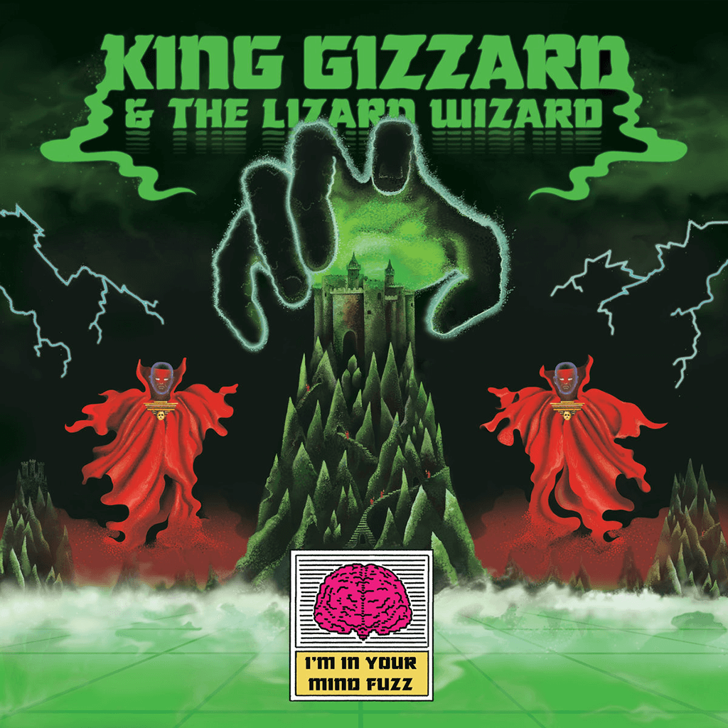 I'm In Your Mind Fuzz CD - King Gizzard & The Lizard Wizard - Hello Merch