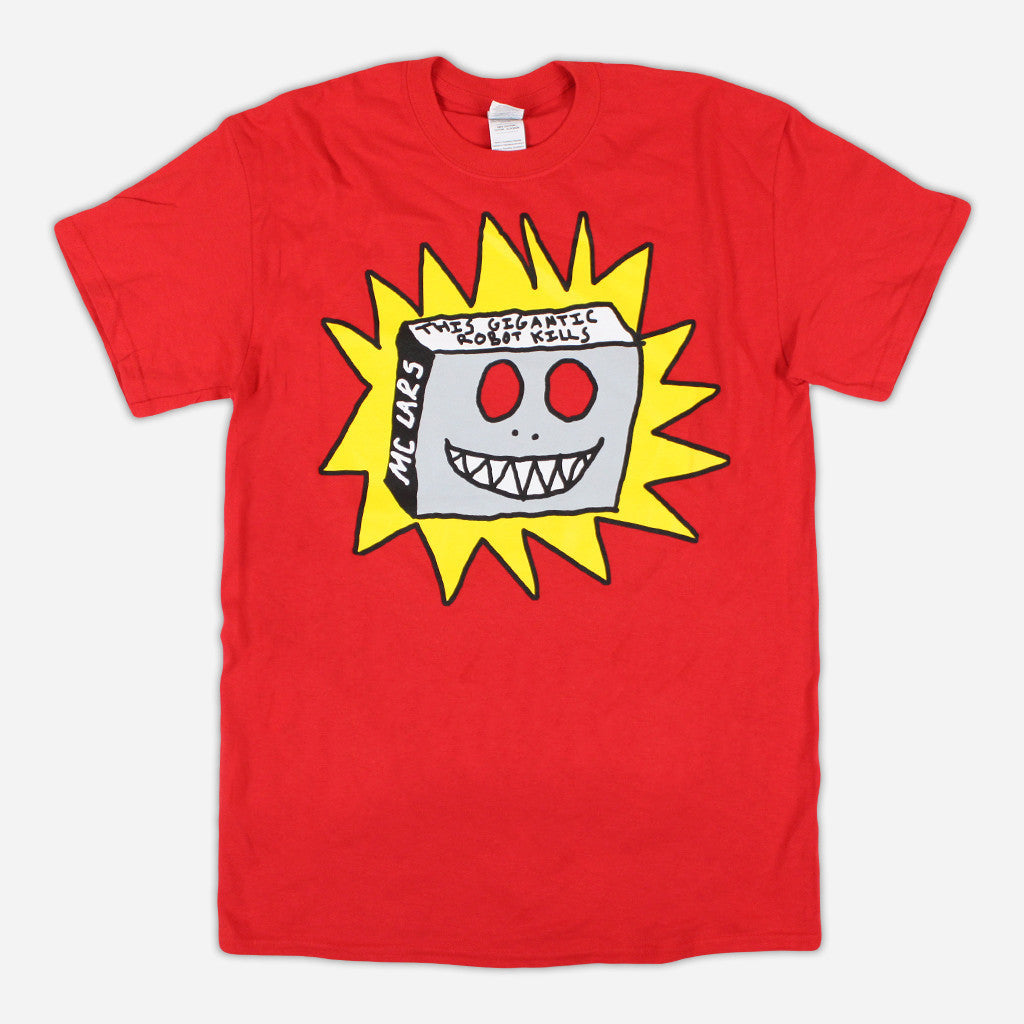 """This Gigantic Robot Kills"" Red T-Shirt"