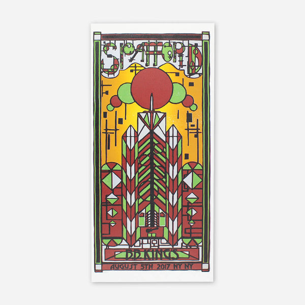 Find A Place Poster by Spafford for sale on hellomerch.com