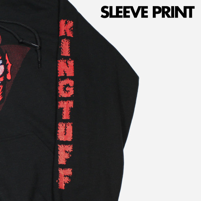 Red Devil Black Pullover Sweatshirt - King Tuff - Hello Merch