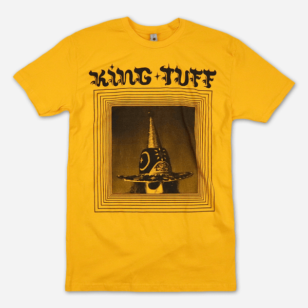 Neverending Sunshine Gold T-Shirt by King Tuff for sale on hellomerch.com