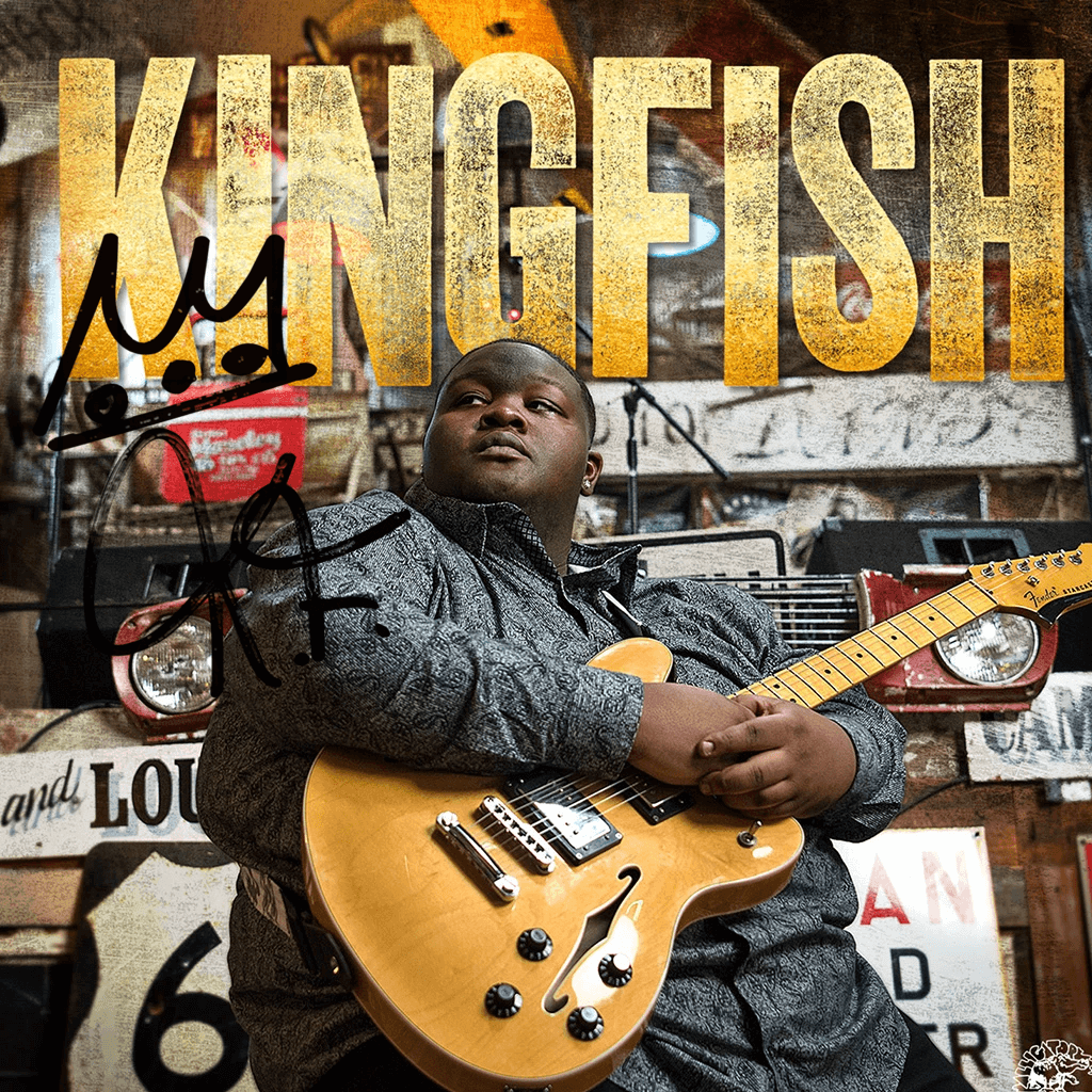 Autographed Kingfish CD