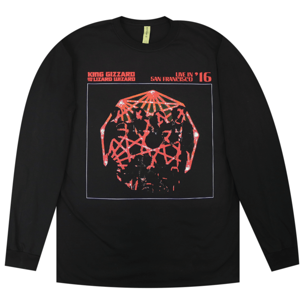 Live In San Francisco '16 Black Long Sleeve
