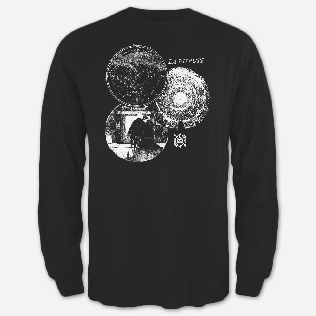 Orbs Black Long Sleeve T-Shirt