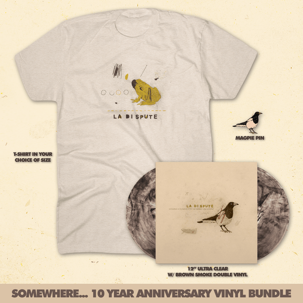 Somewhere at the Bottom of the River Between Vega and Altair 10 Year Anniversary Edition Vinyl Bundle by La Dispute for sale on hellomerch.com
