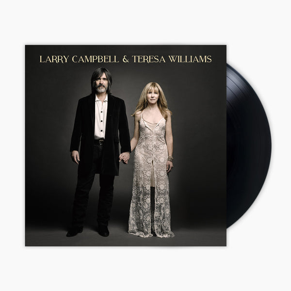 Larry Campbell & Teresa Williams Vinyl by Larry Campbell & Teresa Williams for sale on hellomerch.com