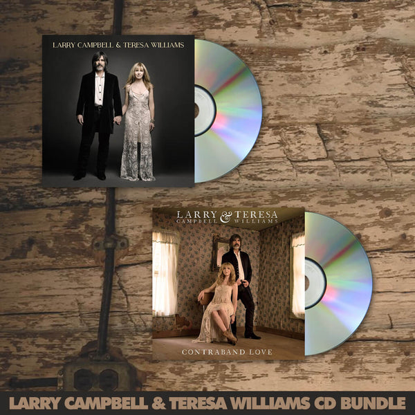 Larry Campbell & Teresa Williams CD Bundle by Larry Campbell & Teresa Williams for sale on hellomerch.com