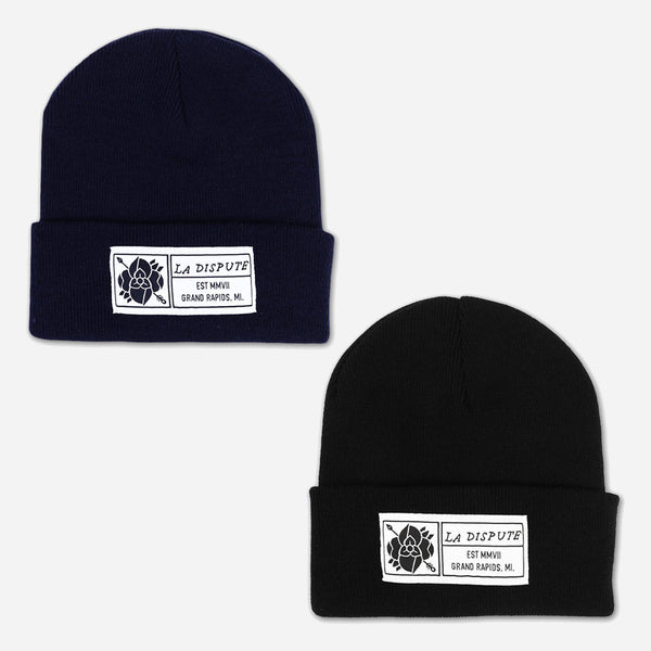 La Dispute Patch Beanies by La Dispute for sale on hellomerch.com