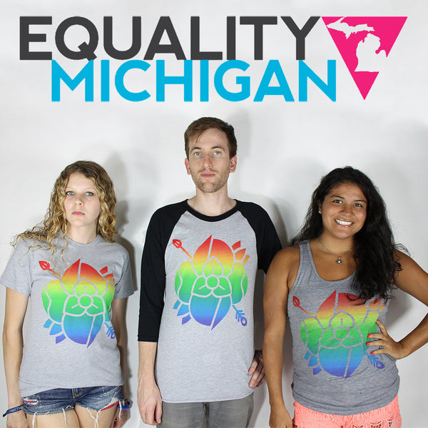 Equality Michigan by La Dispute for sale on hellomerch.com