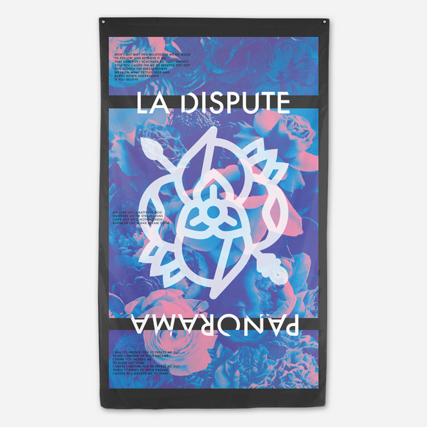 Panorama Flag by La Dispute for sale on hellomerch.com