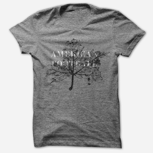 Leaf Heather Grey Tri-Blend - American Football - Hello Merch