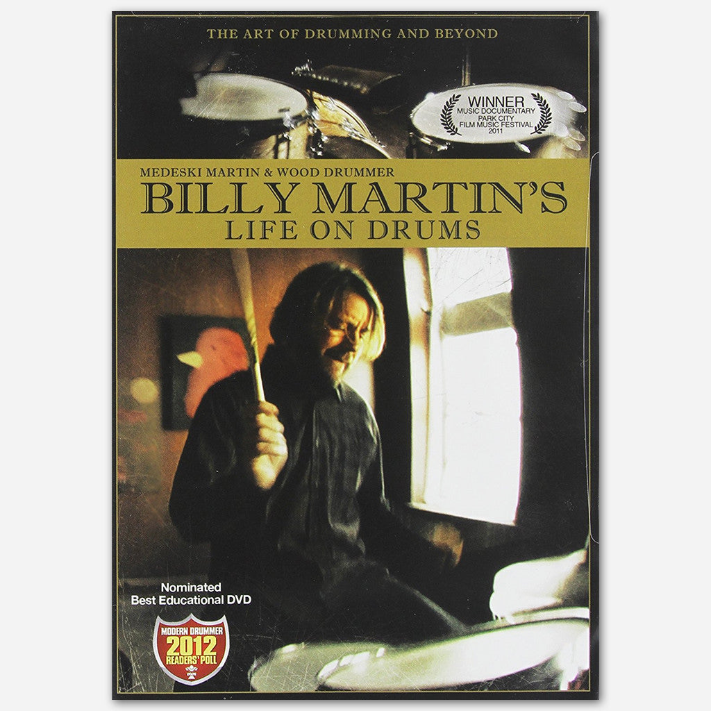 Billy Martin's Life On Drums DVD - Billy Martin - Hello Merch