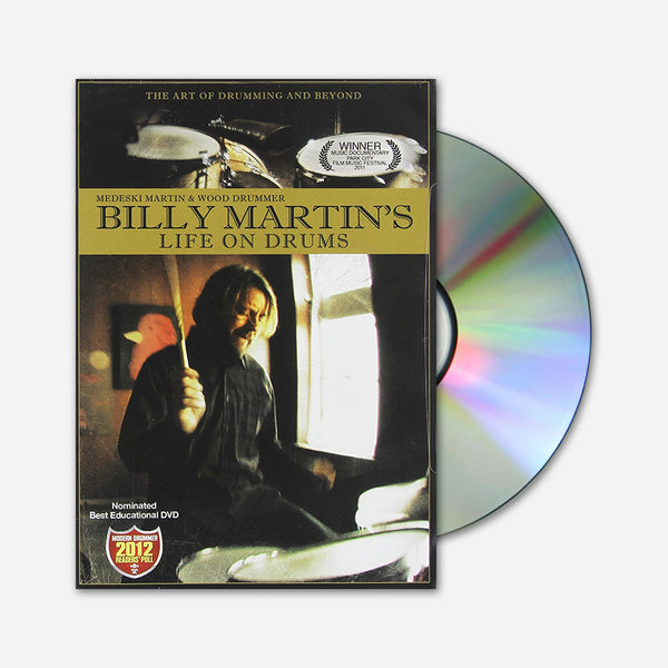 Billy Martin's Life On Drums DVD by Billy Martin for sale on hellomerch.com