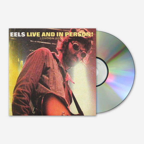 Live And In Person CD & DVD by Eels for sale on hellomerch.com