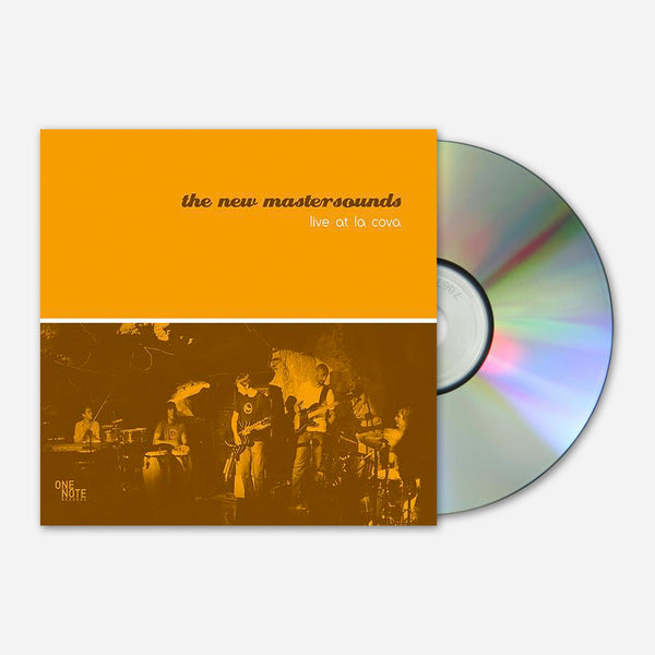 Live At La Cova CD by The New Mastersounds for sale on hellomerch.com