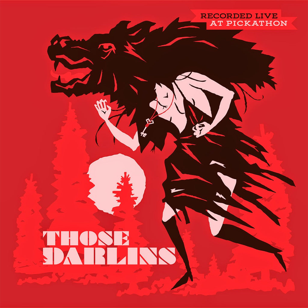 "Live From Pickathon: Those Darlins/Diarrhea Planet 12"" Vinyl"
