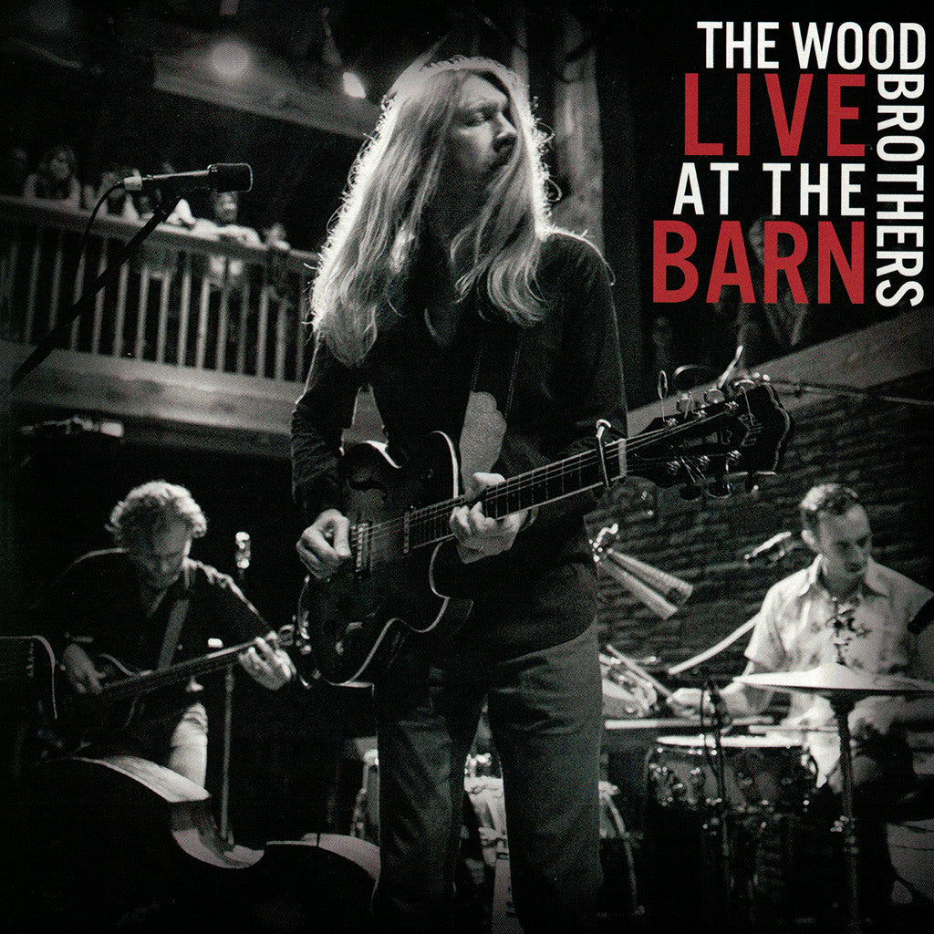 Live At The Barn CD - The Wood Brothers - Hello Merch