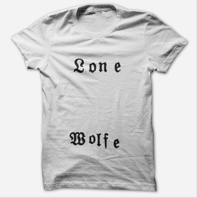 Lone Wolfe White T-Shirt