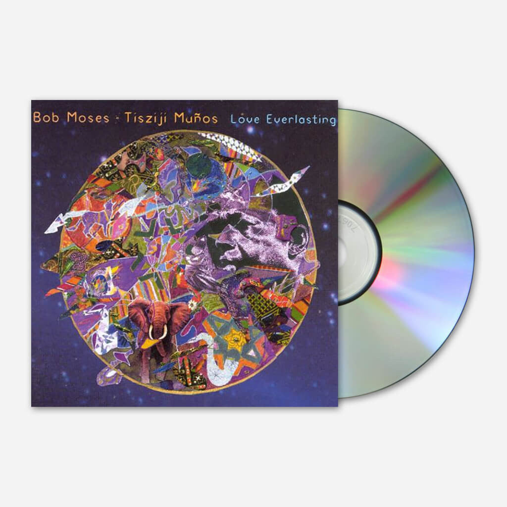 Bob Moses & Tisziji Munos - Love Everlasting CD - Billy Martin - Hello Merch