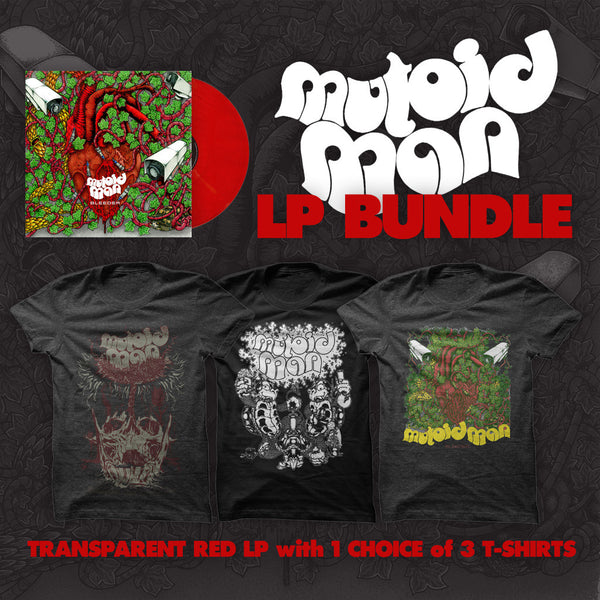Bleeder Vinyl Bundle by Mutoid Man for sale on hellomerch.com