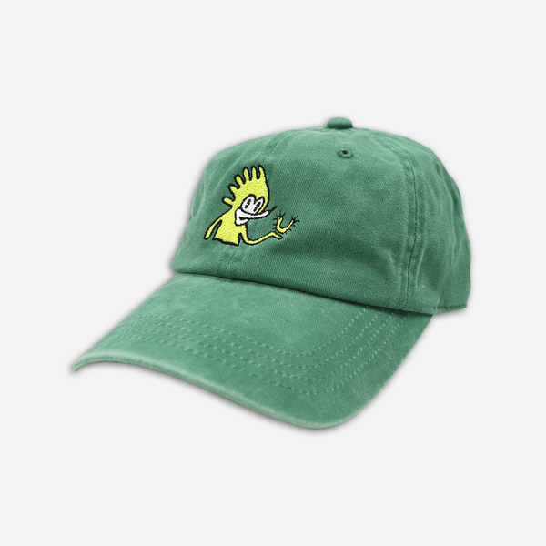 Lucky Green Dad Hat by Mac DeMarco for sale on hellomerch.com