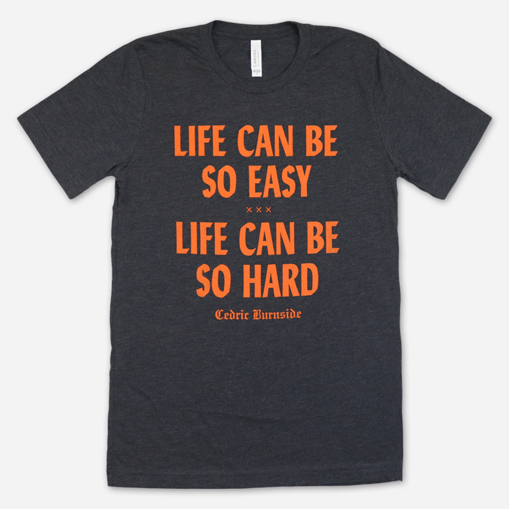 Life Dark Grey Heather T-Shirt