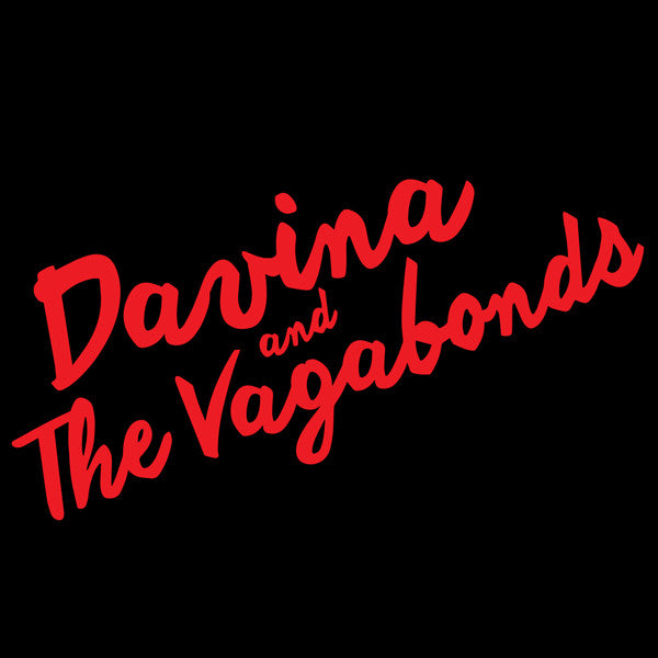 Lipstick Black T-Shirt - Davina and The Vagabonds - Hello Merch