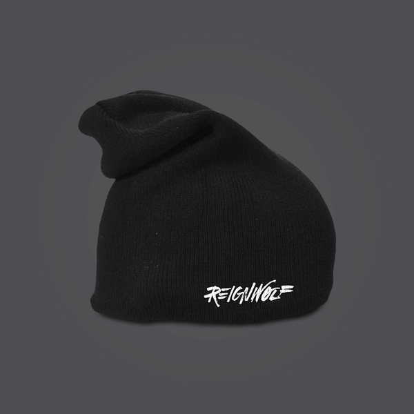 Logo Black Beanie by Reignwolf for sale on hellomerch.com